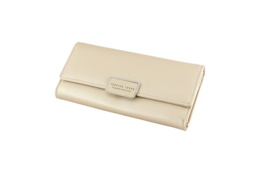 gold long wallet