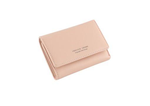 orange pink short wallet