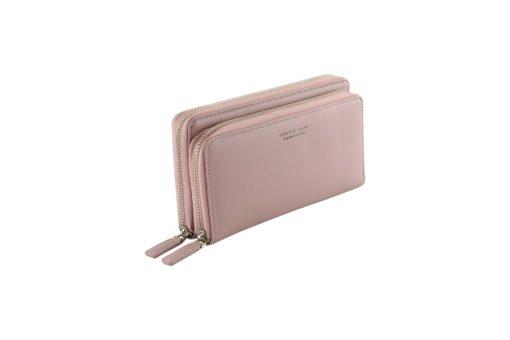 deep pink long wallet