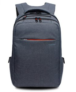 laptop backpack steel grey