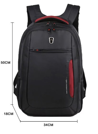 laptop backpack dimensions