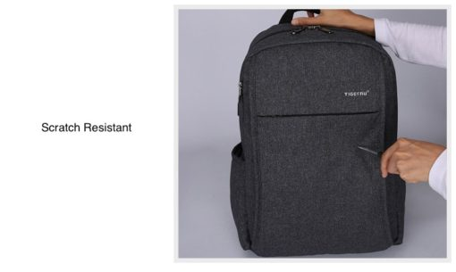 scratchproof usb backpack