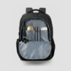 laptop backpack inside view