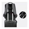 anti theft backpack with luggage strap