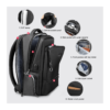 laptop backpack structure