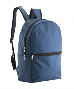 blue casual backpack
