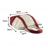 canvas handbag size