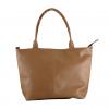 orange color handbag