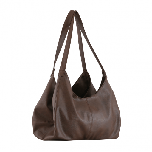 chocolate brown color handbag