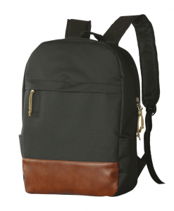 black color casual backpack