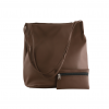 brown color ladies bucket bag