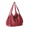 red color handbag