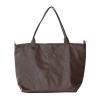 chocolate color large handbag