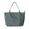 grey color large handbag